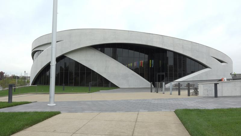 Exterior of the National Veterans Museum and Memorial
