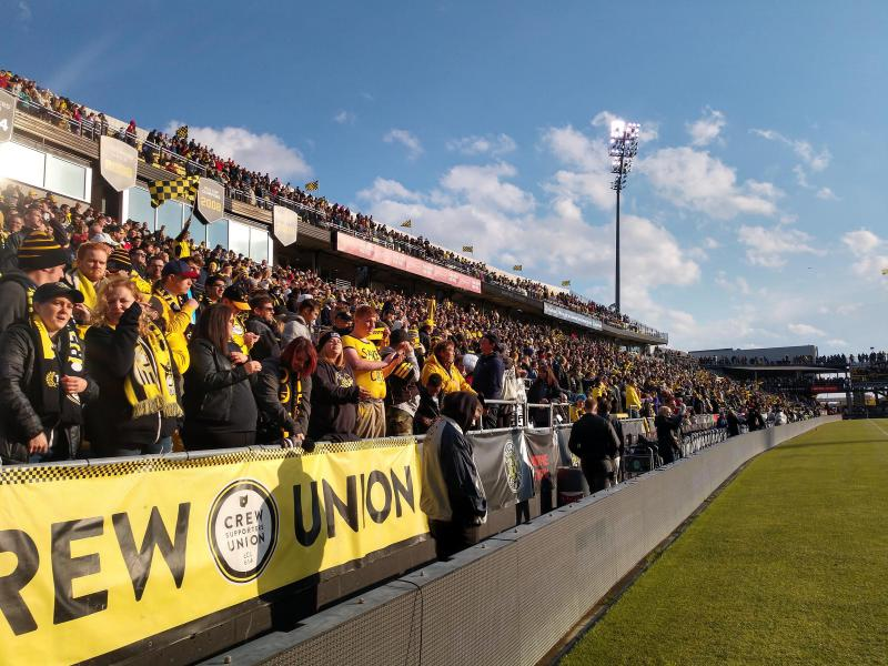 Columbus Crew fans gear up for final regular season match in MAPFRE Stadium on October 27. They went up against the Minnesota United FC, winning 3-2.