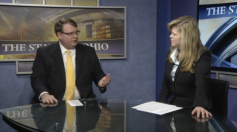 """Senate President Larry Obhof (R-Medina) appears on """"The State of Ohio"""" this weekend."""