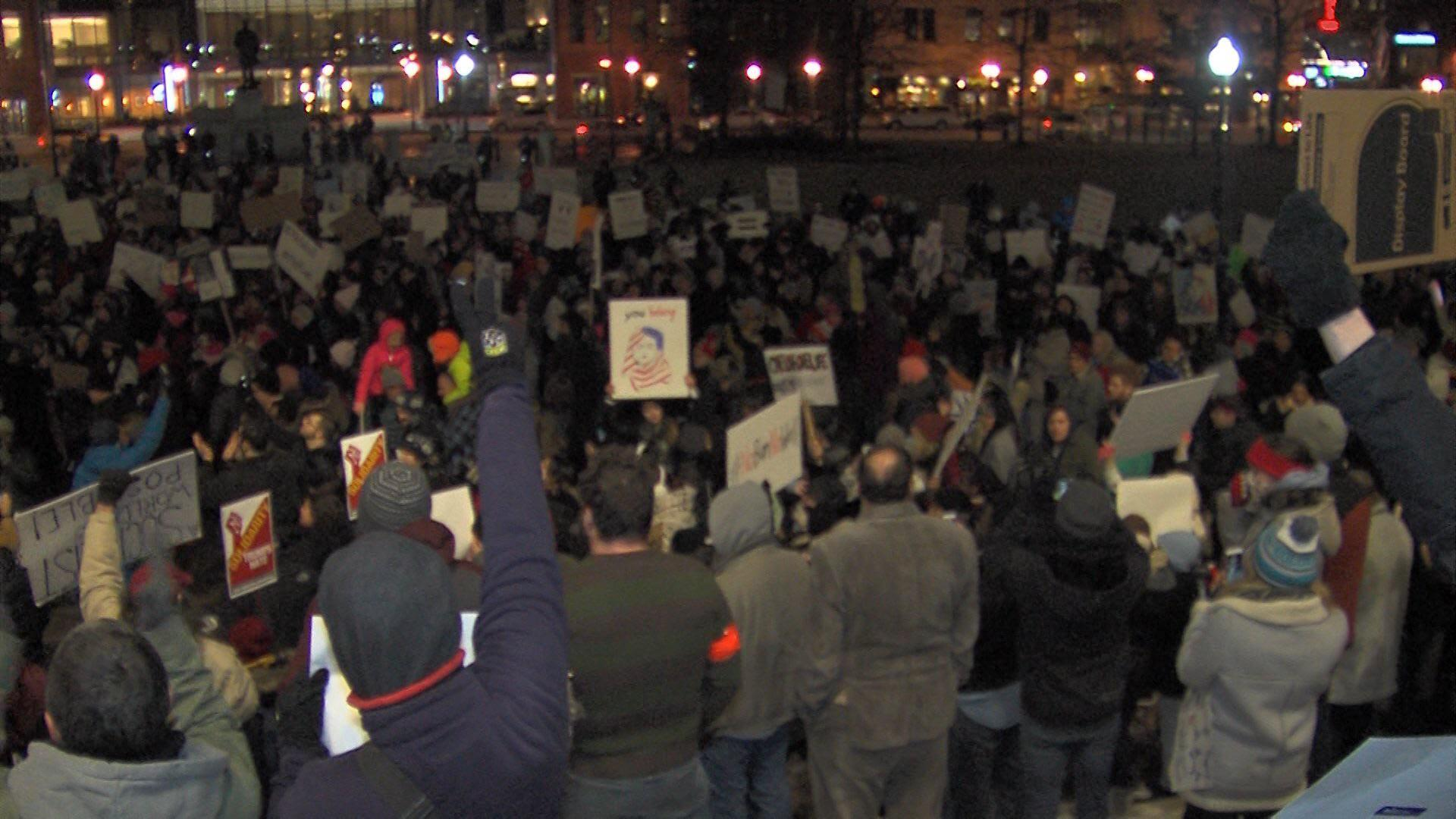 Protest Against Immigration Executive Order