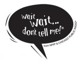 Get your VIP tickets for Wait Wait... Don't Tell Me! today!