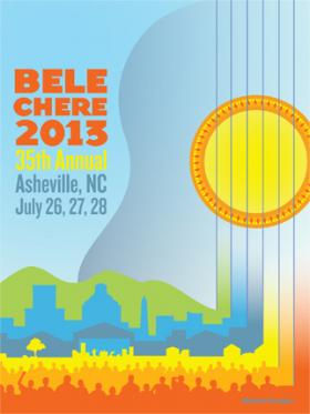 WCQS reporter, Greta Johnsen talks with festival supervisor, Sandra Travis, about the 35th and final Bele Chere.