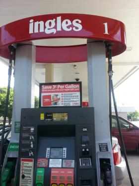 Who will win $1,000 in gas from Ingles? Fine out August 7th during the 5 o'clock hour of All Things Considered.