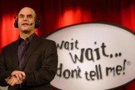 Wait Wait... Don't Tell Me host Peter Sagal.
