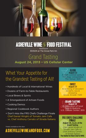 The Asheville Food & Wine Festival is just one of Rebecca Sulock's picks for the weekend.