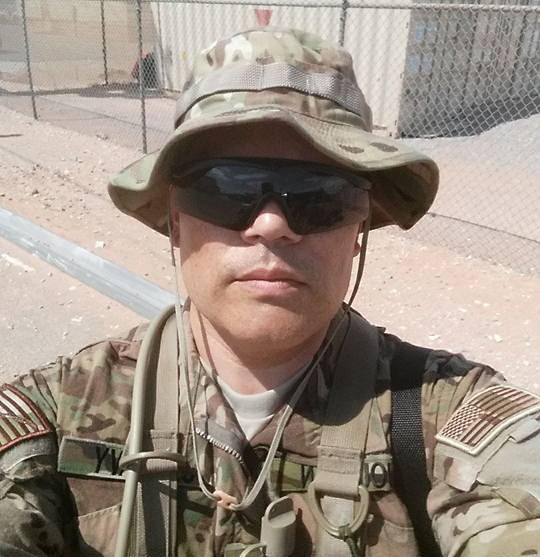 Classical music host Josh Jourdan on active duty.
