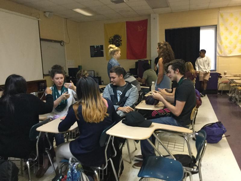 North Henderson High School's Civics and Economics Honors Class