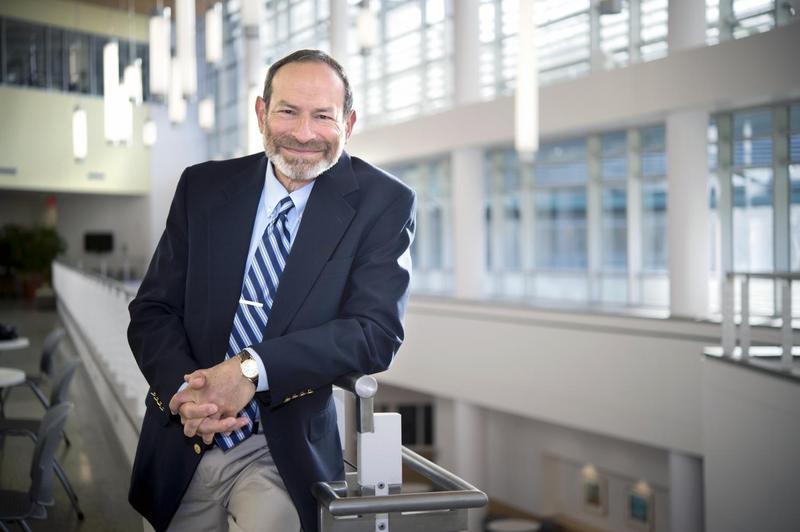 Dr. David Shapiro recently won the prestigious O. Max Gardner award for his work in speech-language pathology.