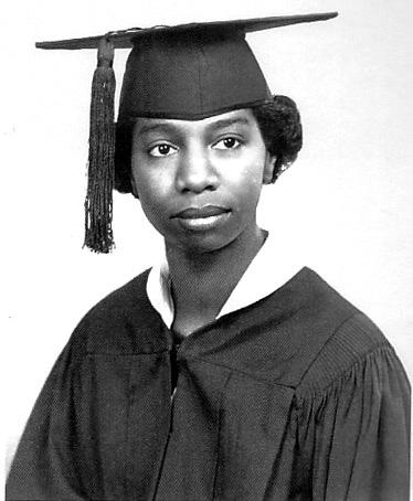 Simone (Eunice Waymon) was Valedictorian of her high schoolcClass