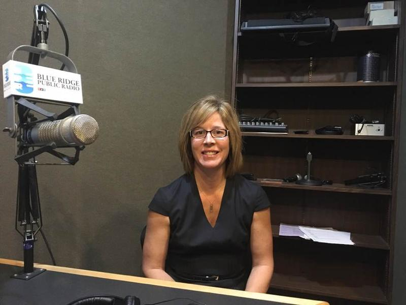Asheville Mayor Esther Manheimer at BPR studios 6/30/17