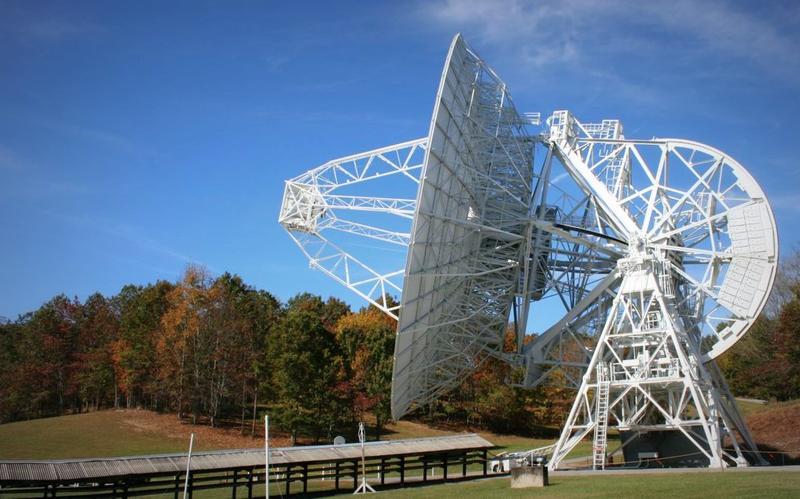 One of the Radio telescopes at PARI
