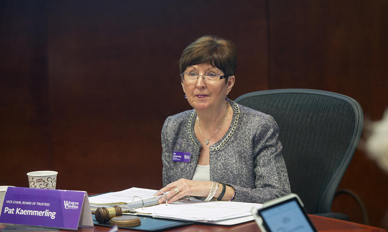 Patricia Kammerling will chair the 21-member committee that will search for WCU's next chancellor