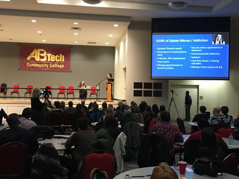 Town Hall meeting held January 30th at AB Tech