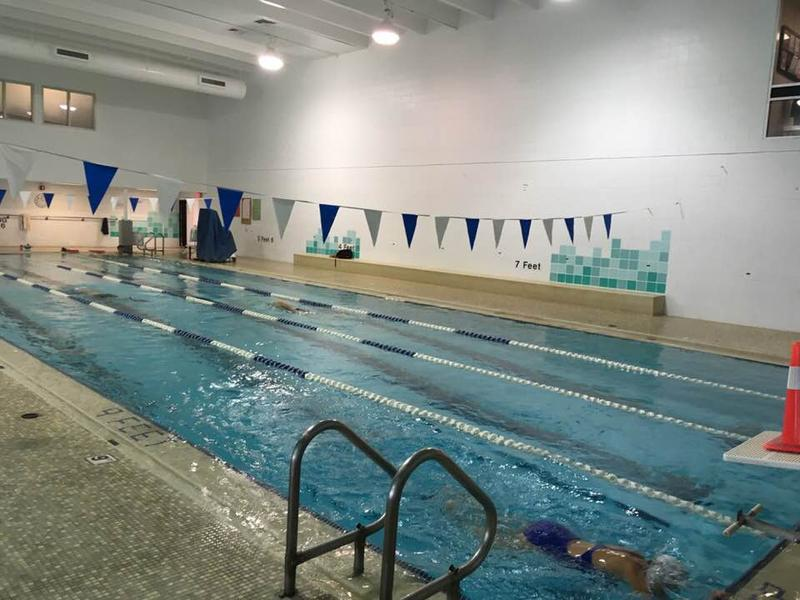 Lap pool at the downtown Asheville YMCA