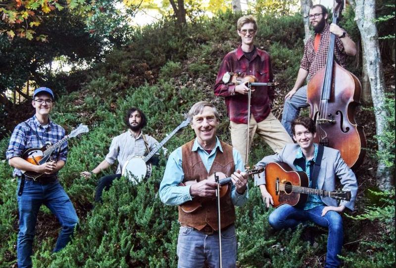 Wayne Erbsen and the Warren Wilson College Bluegrass Band