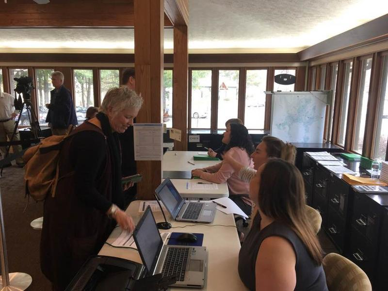 Rep. Susan Fisher filing for re-election