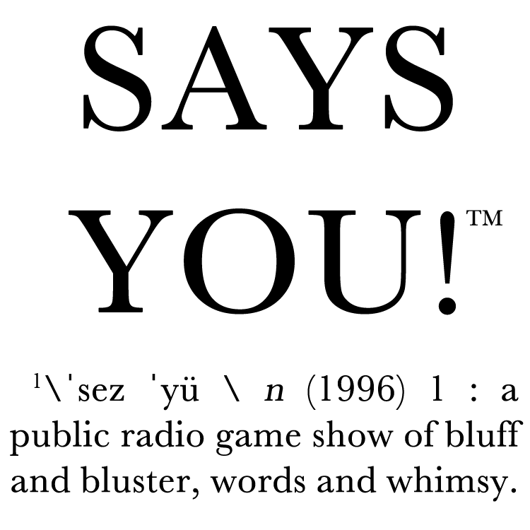 Says You! logo