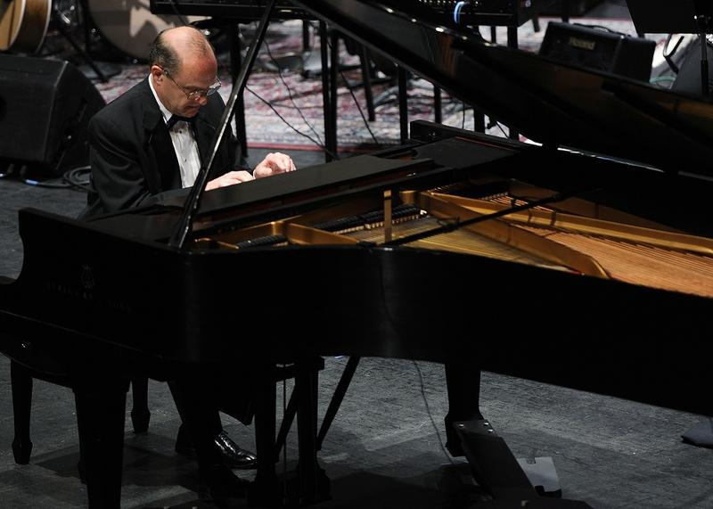 WCU Chancellor David O. Belcher was a classically trained pianist.
