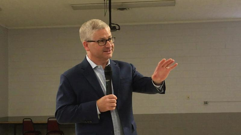 Rep. Patrick McHenry at Asheville town hall 8/1/18