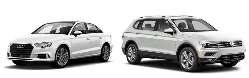 The 2018 Ticket To Ride Summer Raffle winner will get to choose between a new Audi A3 and VW Tiguan from Harmony Motors.