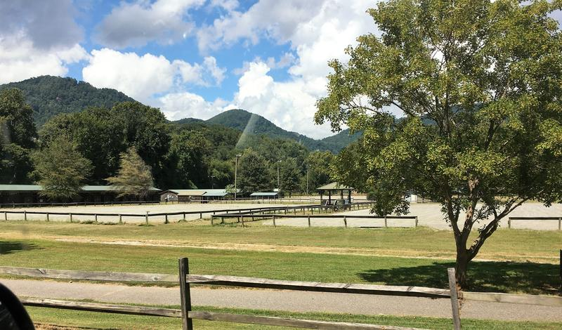 Harmon field is a public park in Tryon that includes an equestrian center.