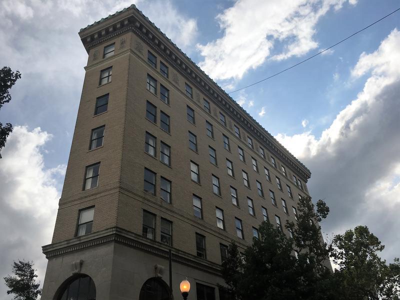 Asheville's historic Flatiron Building