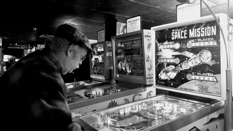 How do you celebrate 35 years on the radio? By playing pinball of course!