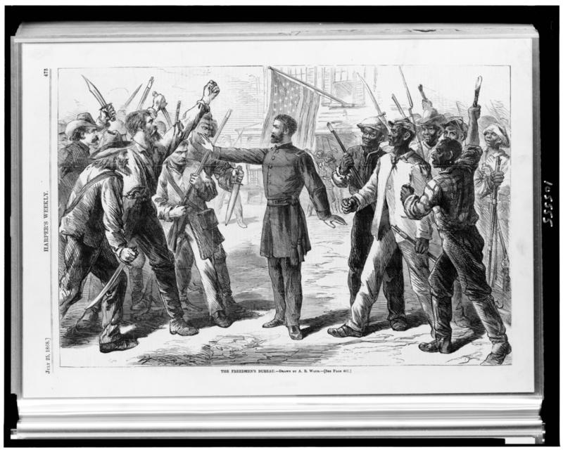 The Freedmen's Bureau in the U.S. lasted from 1865 to 1872