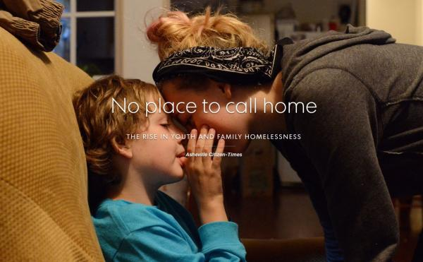 """No place to call home"" is the long-form reporting project from Casey Blake, John Boyle, and Erin Brethauer."
