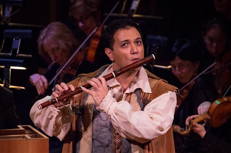 Tenor Nicholas Phan as Tamino