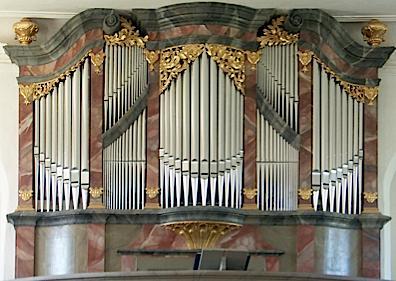 Hildebrandt organ at Stoermthal