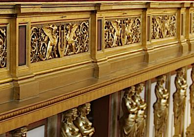 Balcony Detail of the Musikverein, Vienna
