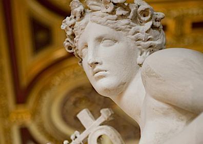 Sculpture Detail of the Musikverein, Vienna