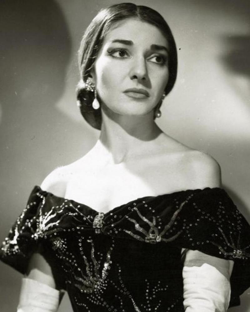 Soprano Maria Callas