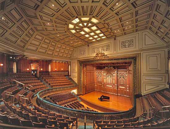 New England Conservatory's Jordan Hall