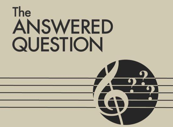 The Answered Question logo