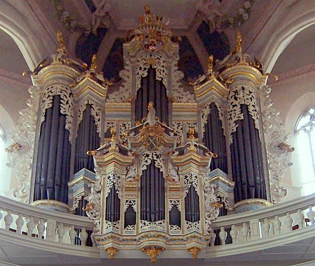 Hildebrandt organ at St. Wenceslas Church, Naumburg, German