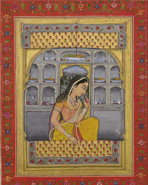 Unknown 18th-Century Painting of Princess Padmavati