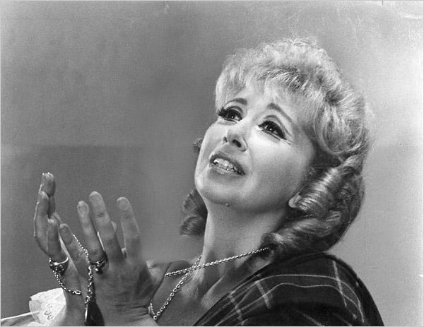 Photograph of soprano Beverly Sills