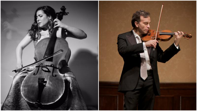 image of Alisa Weilerstein and Gil Shaham