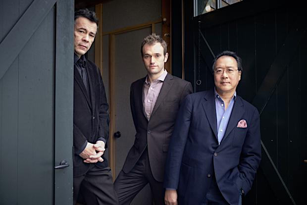 Edgar Meyer, Chris Thile, and Yo-Yo Ma