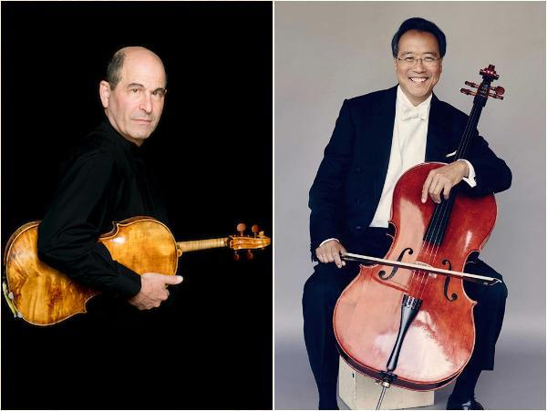 Steven Ansell and Yo-Yo Ma
