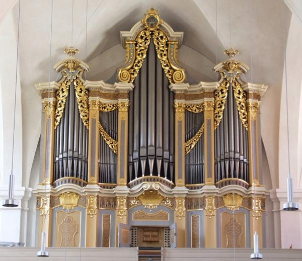 St. Peter's Church, Freiberg - Silbermann Organ