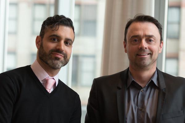 Pictured: Jonathon Loy (left) and Brian Garman (right), co-founders of the Berkshire Opera Festival