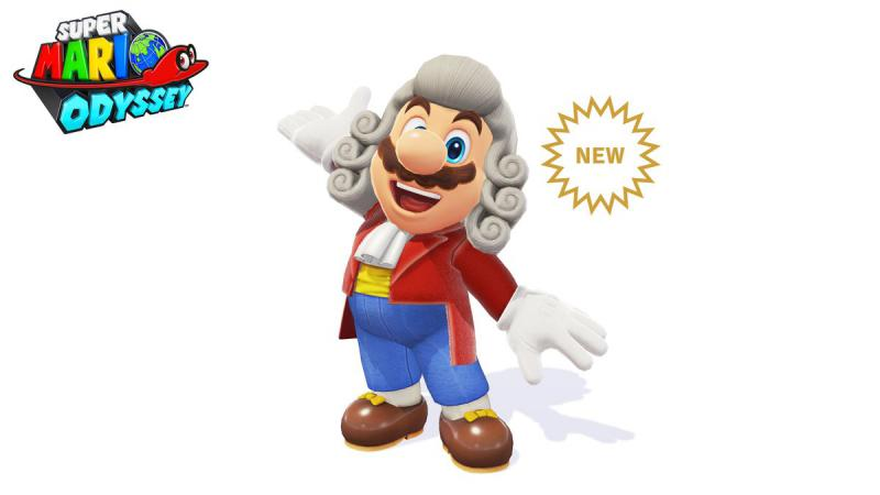 Mario's Conductor Wig and Outfit, from Super Mario Odyssey