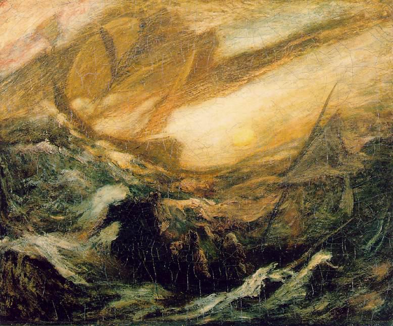 "Albert Pinkham Ryder's ""The Flying Dutchman"""