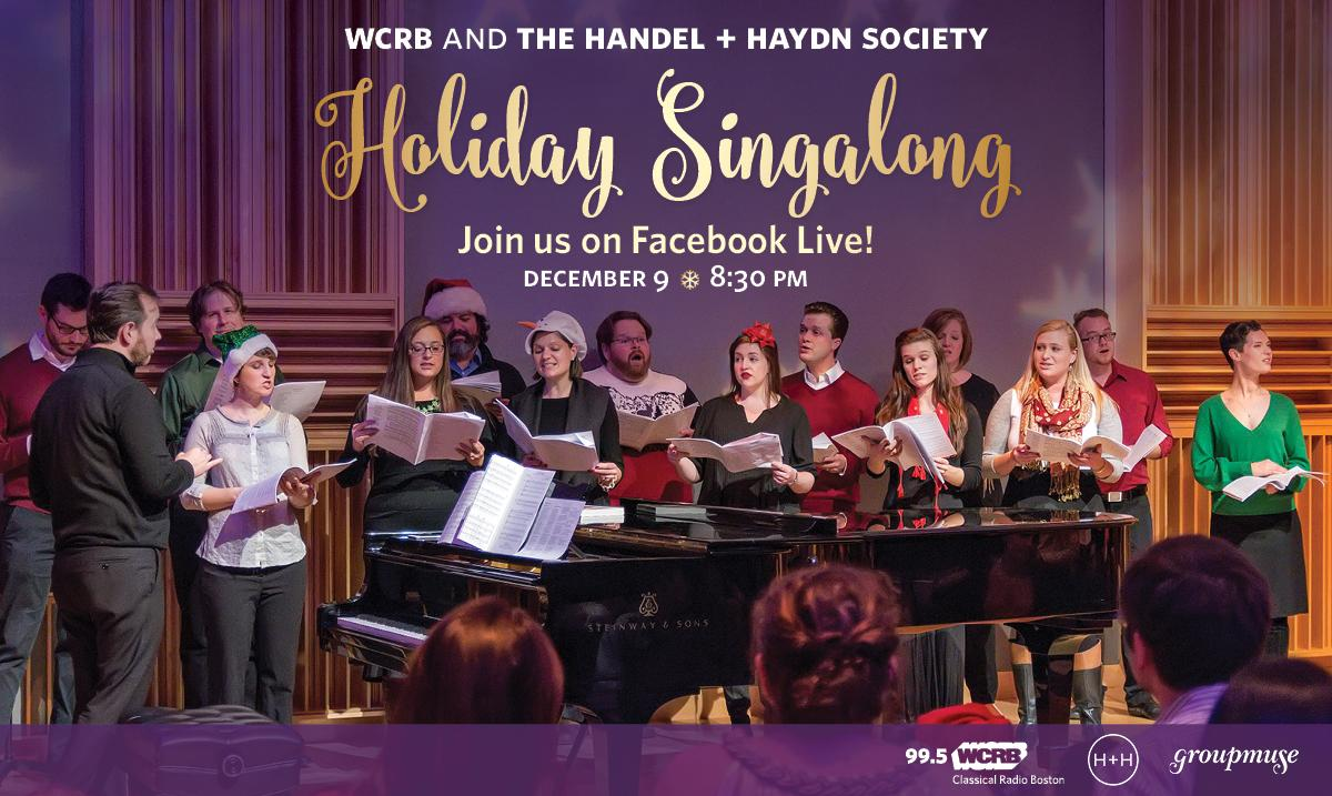 Massivemuse Holiday Party and Sing-Along with Handel + Haydn | 99.5 WCRB