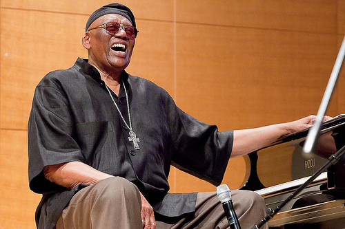 IMG RANDY WESTON, American Jazz Pianist and Composer