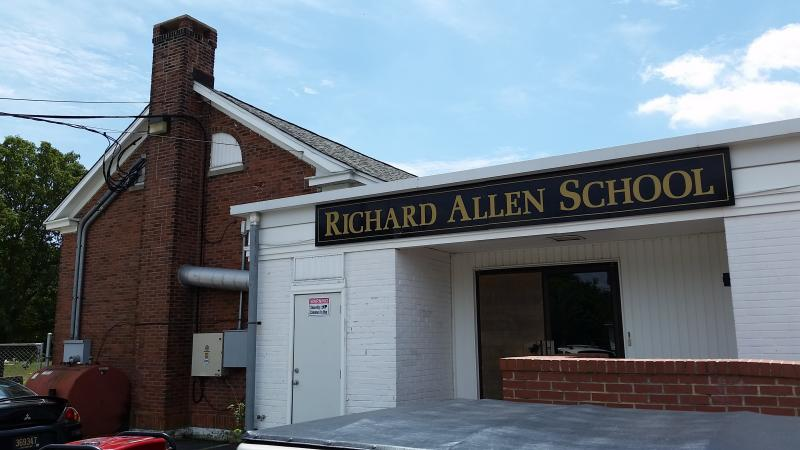 The Richard Allen School opened in the 1920s for underprivileged African-American youth. After the end of segregation, it served Sussex youth of all races, then became an alternative school until closing several years ago.