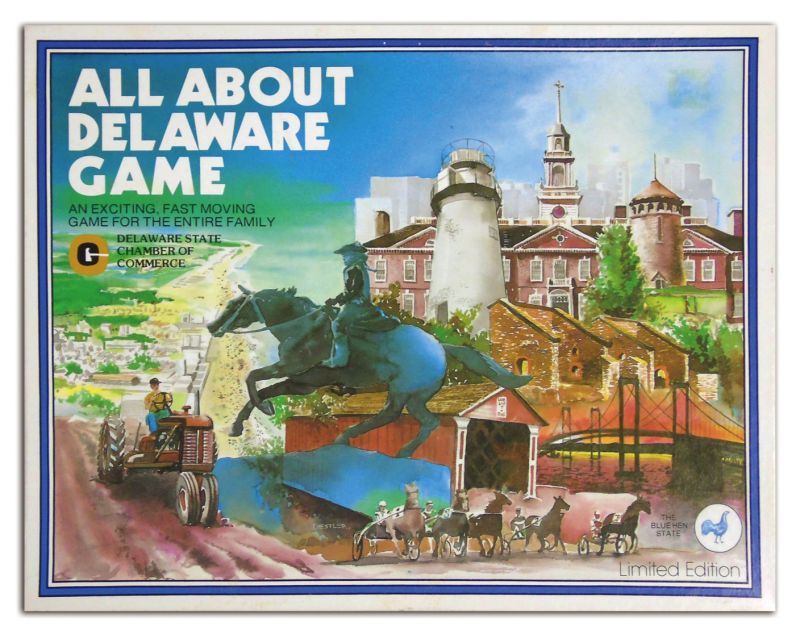 An educational game exploring the state of Delaware.